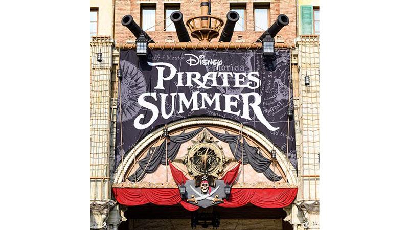 この夏、東京ディズニーシーがパイレーツにジャックされる!?のイメージ
