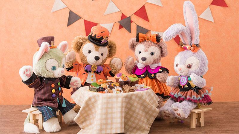 ダッフィー&フレンズのハロウィーンはお菓子がいっぱい♪のイメージ