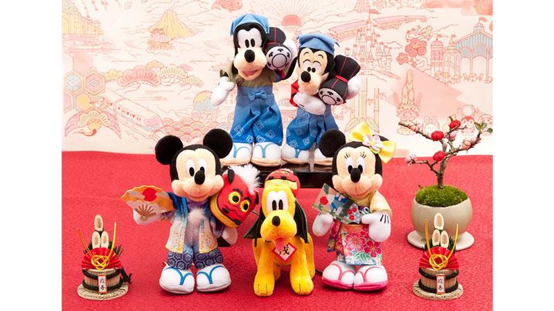 東京ディズニーリゾートのニューイヤーグッズ♪のイメージ