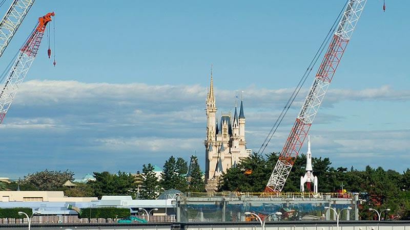 東京ディズニーランド大規模開発いよいよ全面的に工事開始!のイメージ