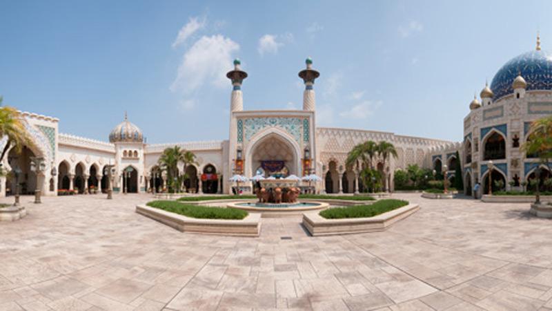 アラビアンコーストの宮殿の中庭から袋小路に入ると、そこには・・・?のイメージ