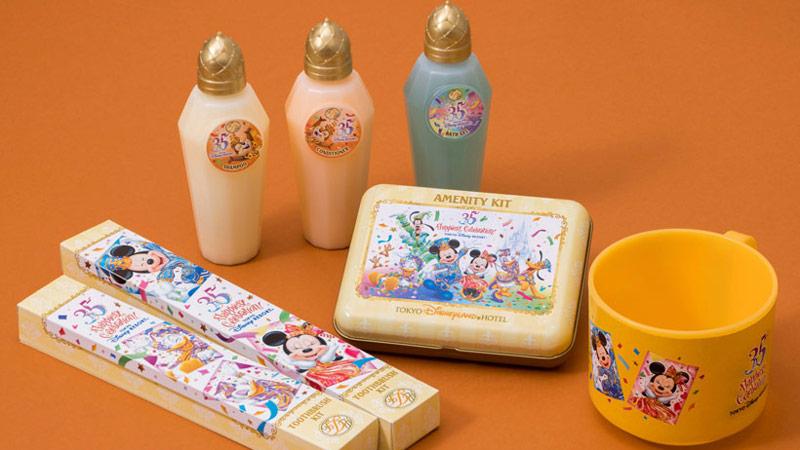 """ディズニーホテルの東京ディズニーリゾート35周年""""Happiest Celebration!""""をご紹介♪のイメージ"""