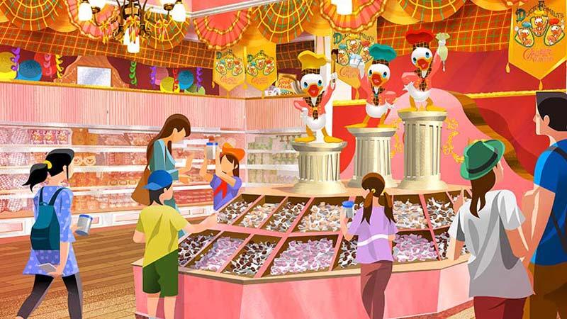 「チョコレートクランチ」をテーマにした2店舗を初公開!4月15日(日)から!のイメージ