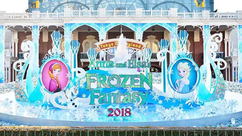 今年で最後!アナとエルサのフローズンファンタジーのイメージ