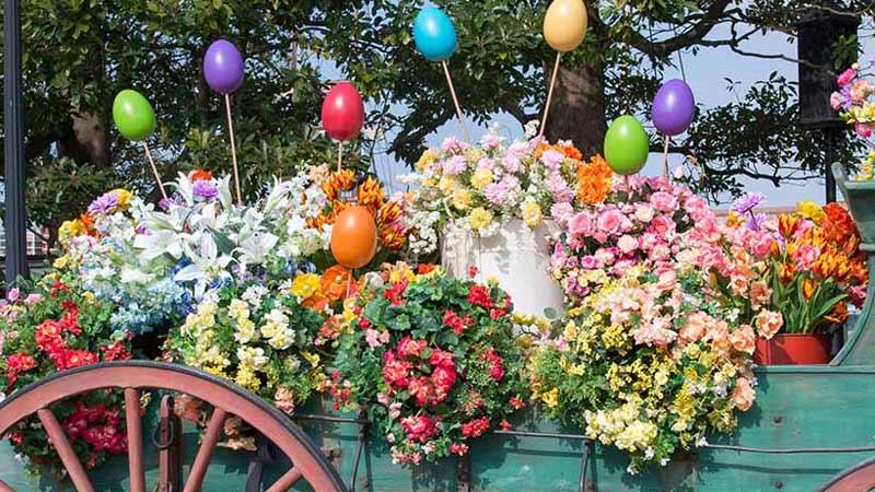 ハッピーイースター!春満開の華やかなスペシャルメニュー♪のイメージ