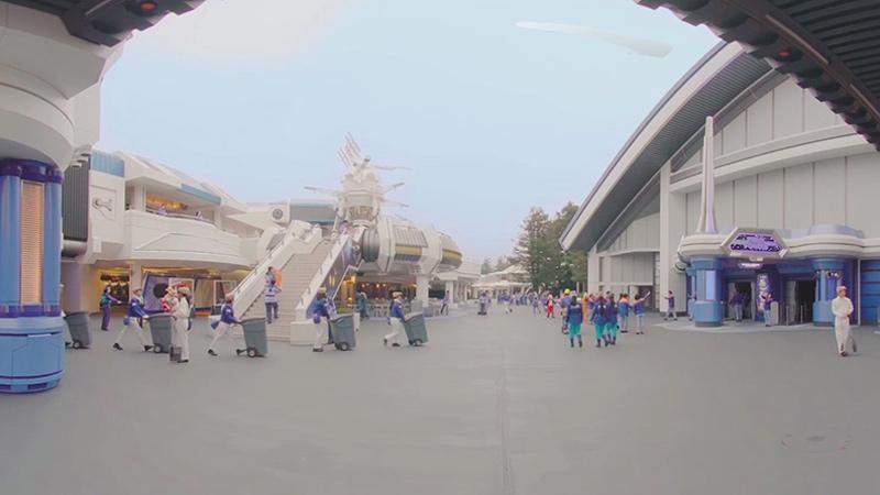 トゥモローランドを舞台にした、360度動画でまちがいさがし!!のイメージ