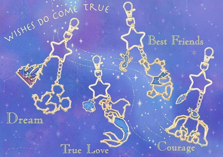 星座の形のキーチェーンの画像