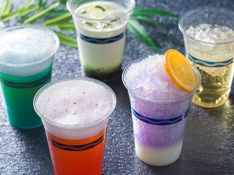 東京ディズニーシーでは、5種類のアルコールドリンクが登場の画像