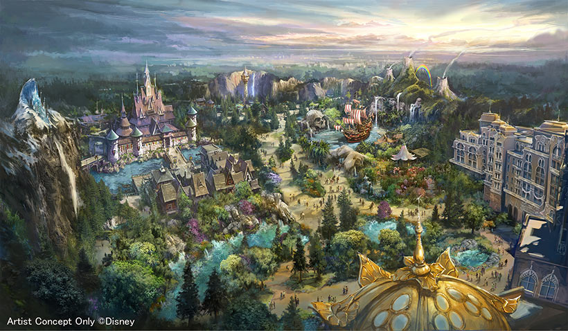 ファンタジースプリングスのイメージの画像