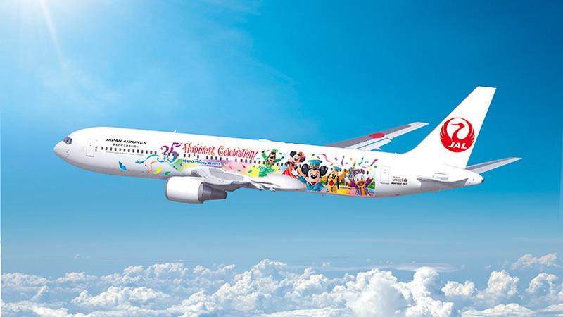 特別塗装機「JALセレブレーションエクスプレス」が国内線に就航のイメージ