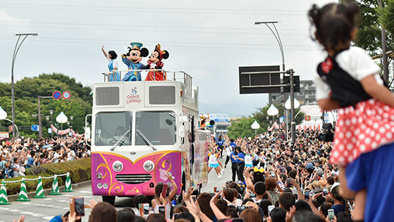 静岡県 富士まつりに「Happiest Celebration!」なスペシャルパレードが登場!のイメージ