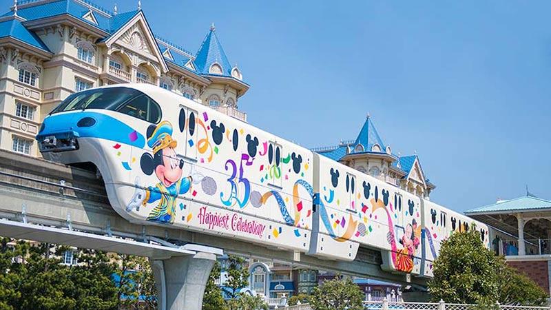 7月27日はディズニーリゾートラインの○○記念日♪のイメージ
