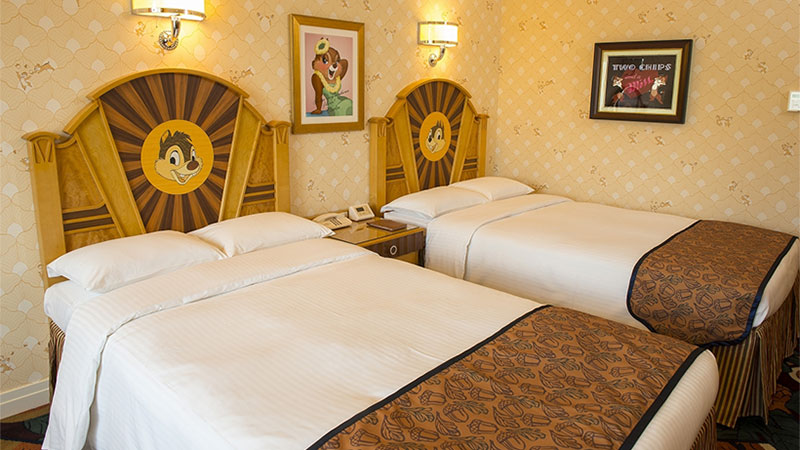 チップとデールファン必見!! 家族みんなで楽しめるディズニーアンバサダーホテル!のイメージ