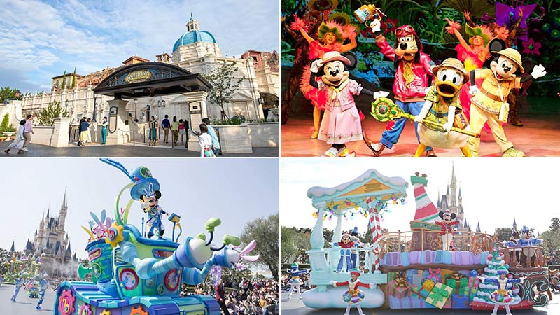 東京ディズニーランド/東京ディズニーシー2019年度のスケジュールのイメージ