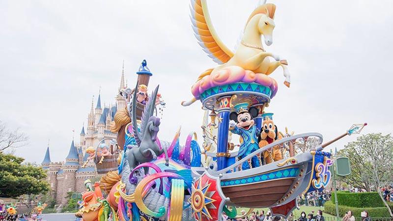 """1~3月の東京ディズニーリゾート 東京ディズニーリゾート35周年""""Happiest Celebration!""""がいよいよフィナーレへのイメージ"""