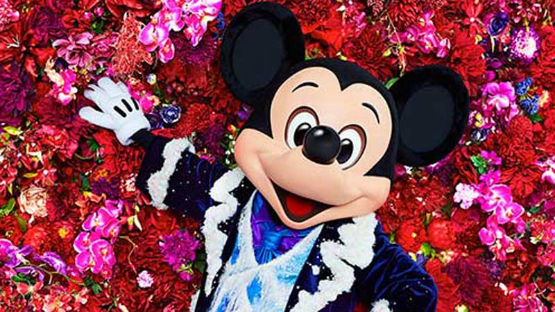 「イマジニング・ザ・マジック」:写真家 蜷川実花さんと「イマジニング・ザ・マジック」とのコラボレーションした作品第四弾は最高にかっこいいミッキーとドナルドです!のイメージ