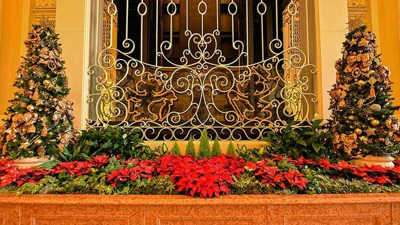 ディズニーホテルに飾られるクリスマスツリーの豆知識とは?のイメージ