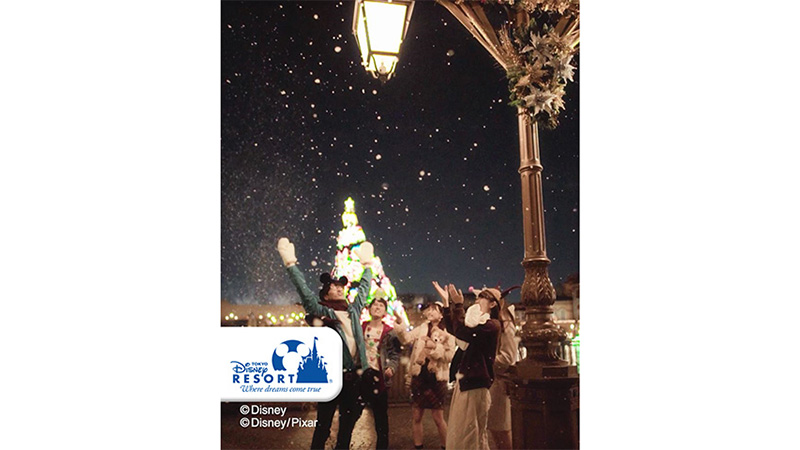 Happy Holidays! from 東京ディズニーリゾートのイメージ
