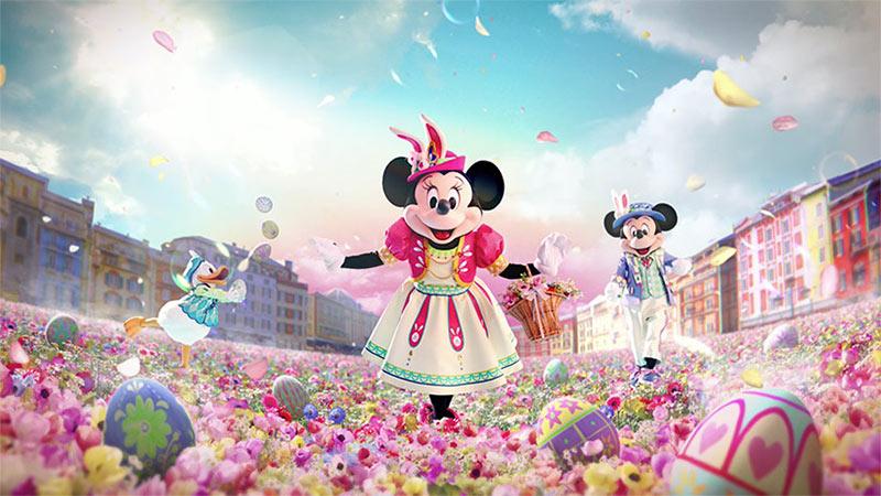 「東京ディズニーリゾートのイースター」TVCMのイメージ