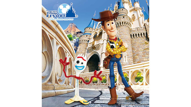 6月14日(金)より東京ディズニーリゾートで、ディズニー/ピクサー映画『トイ・ストーリー4』の世界を楽しめる新プログラムを開催!のイメージ