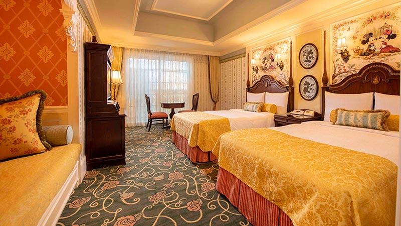 東京ディズニーランドホテルでリゾートステイを満喫のイメージ