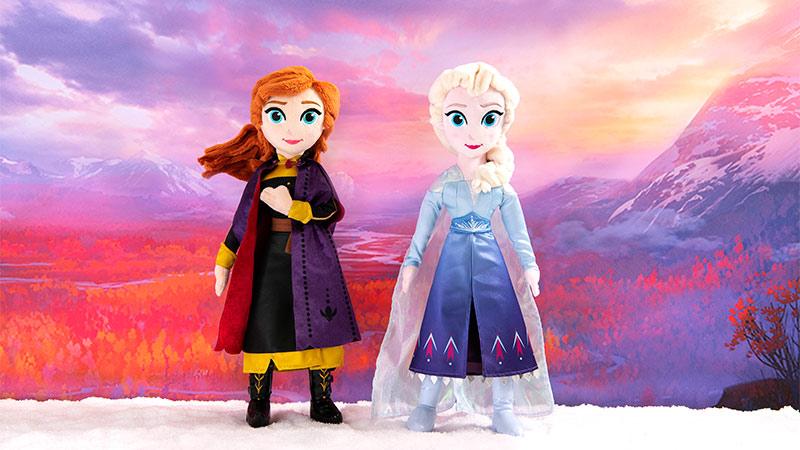10月18日(金)より東京ディズニーランド、東京ディズニーシーで、 映画『アナと雪の女王2』のパークオリジナルグッズを約30種類販売!のイメージ