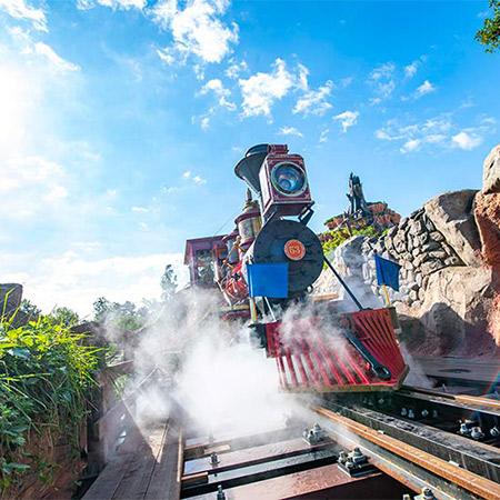 ディズニーの仲間たちが過ごすひととき~「ウエスタンリバー鉄道」~のイメージ