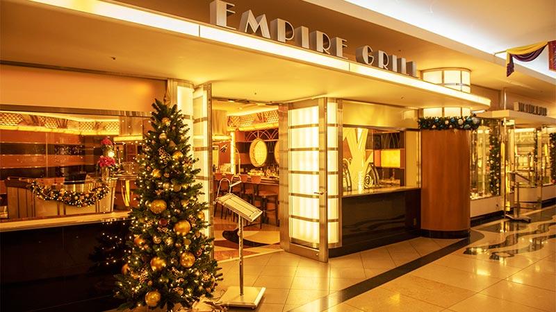 ディズニーホテルのクリスマスディナーコース♪のイメージ
