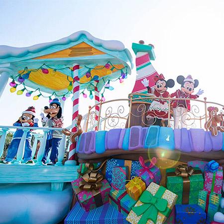 今日からスペシャルイベント「ディズニー・クリスマス」がスタート!のイメージ