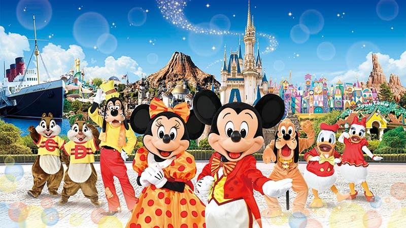 入って楽しい、「ファンダフル・ディズニー」♪のイメージ