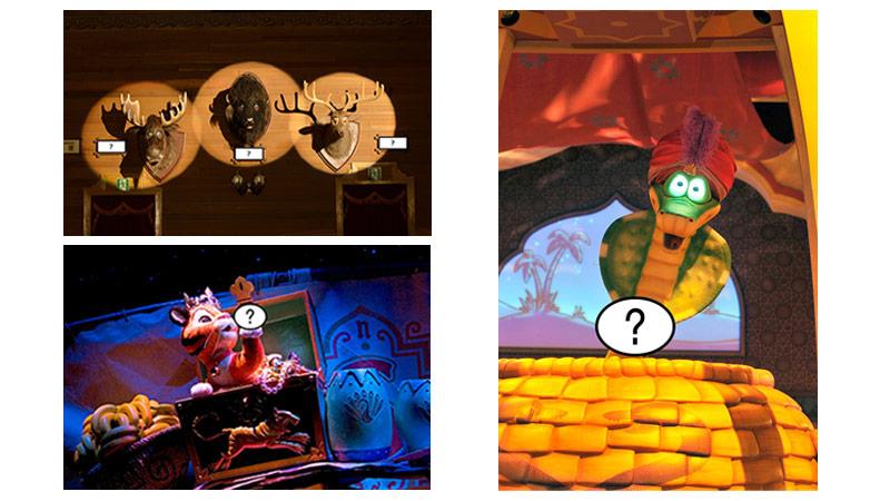 アトラクションのキャラクタークイズ!のイメージ
