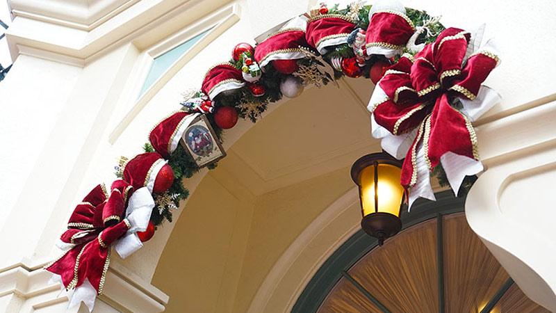 クリスマスリースには特徴がいっぱい!のイメージ