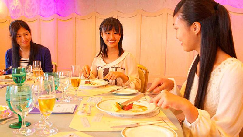 楽しく身につく、テーブルマナー♪のイメージ