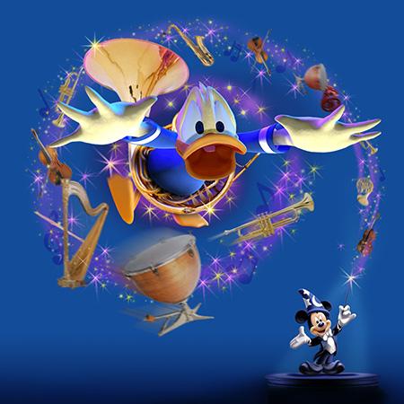 アトラクションキャストが教える!見どころ紹介 〜「ミッキーのフィルハーマジック」編〜のイメージ