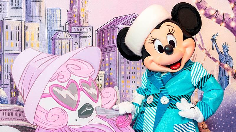 """「ミニーのスタイルスタジオ」で会える、ミニーマウスの""""冬限定""""のファッションを初披露!のイメージ"""