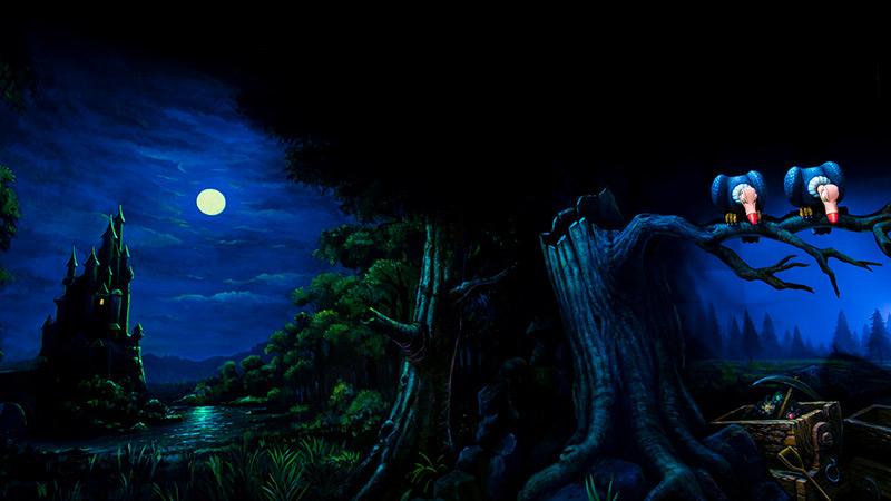 今日は満月~白雪姫~のイメージ