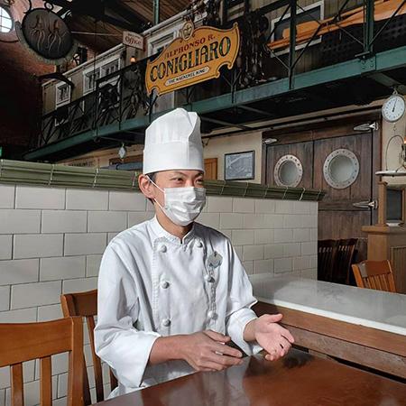 ~こだわりの逸品 シェフインタビュー~「レストラン櫻」のサワラを使った春を感じるメニューのイメージ