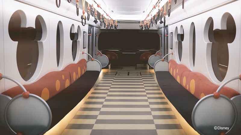 ディズニーリゾートラインの新型車両「リゾートライナー(Type C)」 2020年5月21日(木)から運行開始!のイメージ