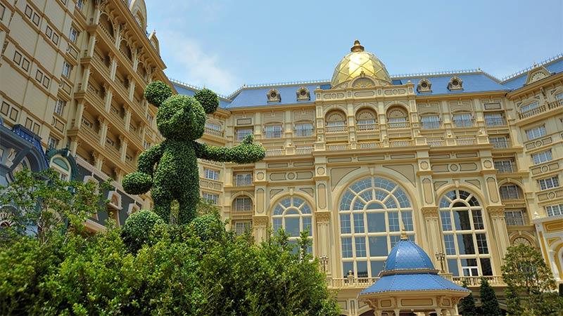 お子さま目線で楽しむ♪東京ディズニーランドホテル宿泊体験のイメージ