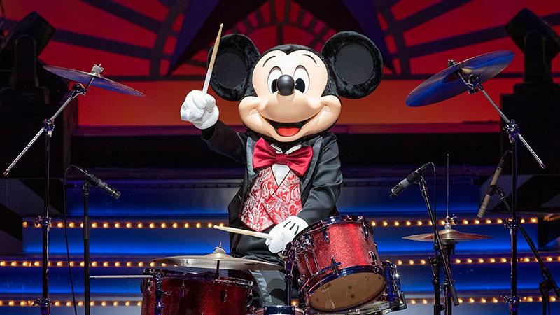 東京ディズニーシーのエンターテイメント「ビッグバンドビート」公演再開のお知らせのイメージ