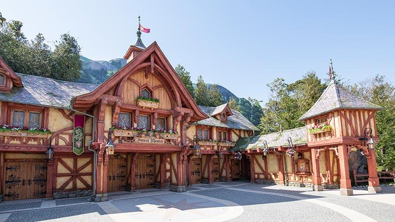 東京ディズニーランド「ファンタジーランド・フォレストシアター」が4月1日(木)にオープン決定「ミッキーのマジカルミュージックワールド」の公演を開始のイメージ