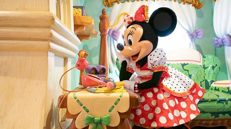 ミニーマウスのある一日♡のイメージ