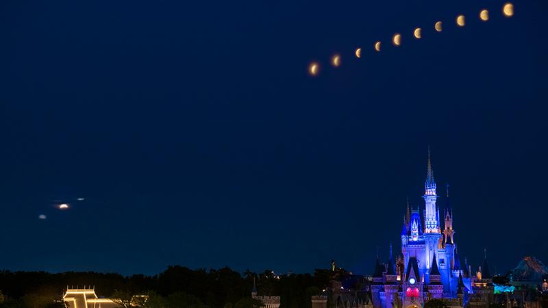 昨日は満月~スーパームーン~のイメージ