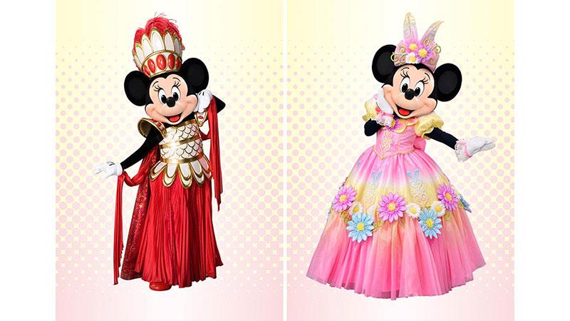 「ミニーのファッションコレクション」ファイナル投票スタート!のイメージ
