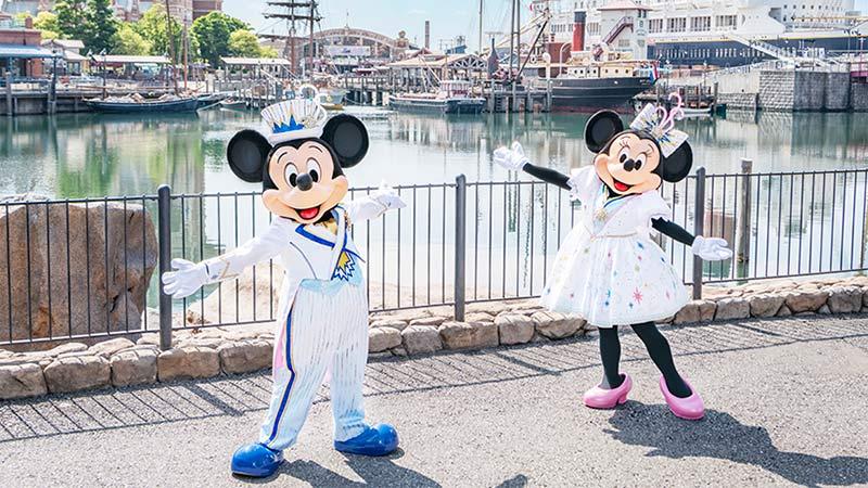 東京ディズニーシー20周年:タイム・トゥ・シャイン!新コスチュームをひとあし早くお披露目のイメージ