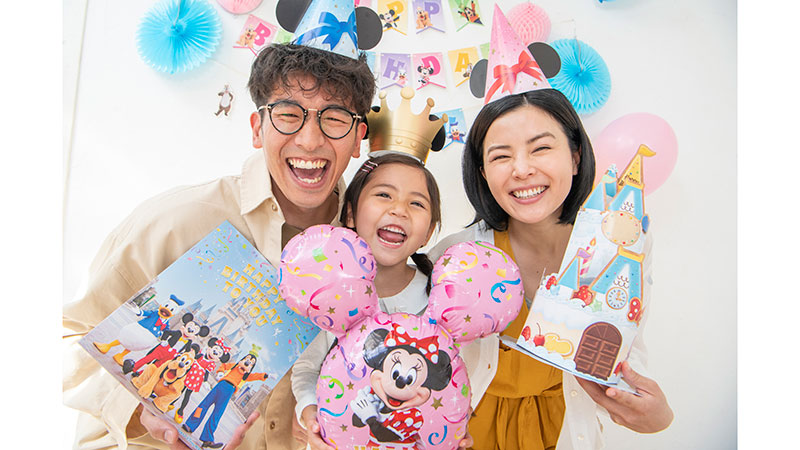 おうちでもパークにいる気分でバースデー! Disney Birthday @ Home「デコレーションキット」を発売!!のイメージ