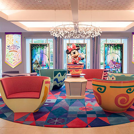 ディズニーホテルに特別なデコレーションやアイテムが登場!のイメージ