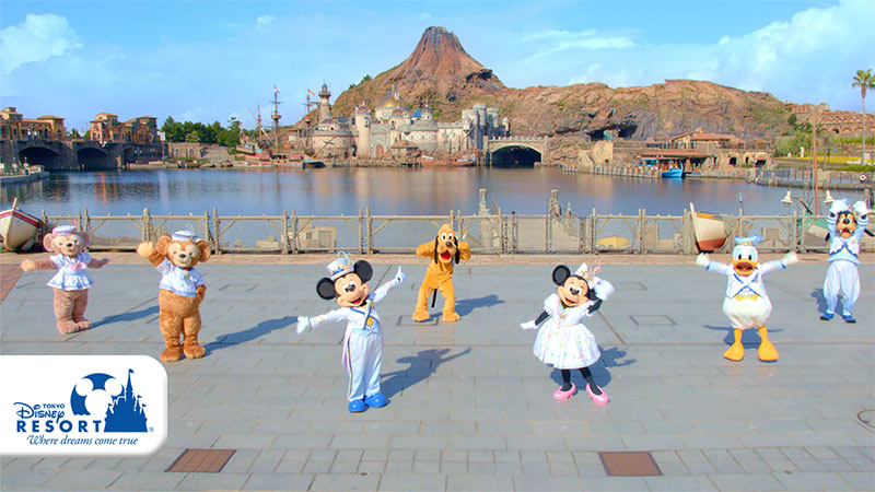 今日からスタート!「東京ディズニーシー20周年:タイム・トゥ・シャイン!」のイメージ