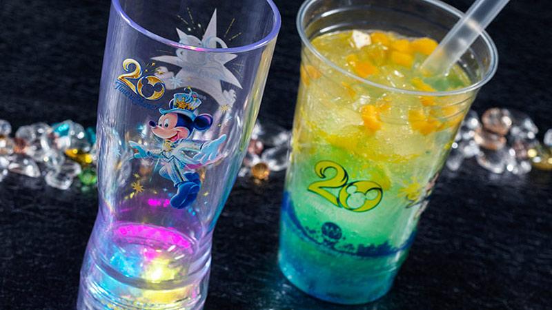 祝!「東京ディズニーシー20周年:タイム・トゥ・シャイン!」を記念したスペシャルなメニューのイメージ