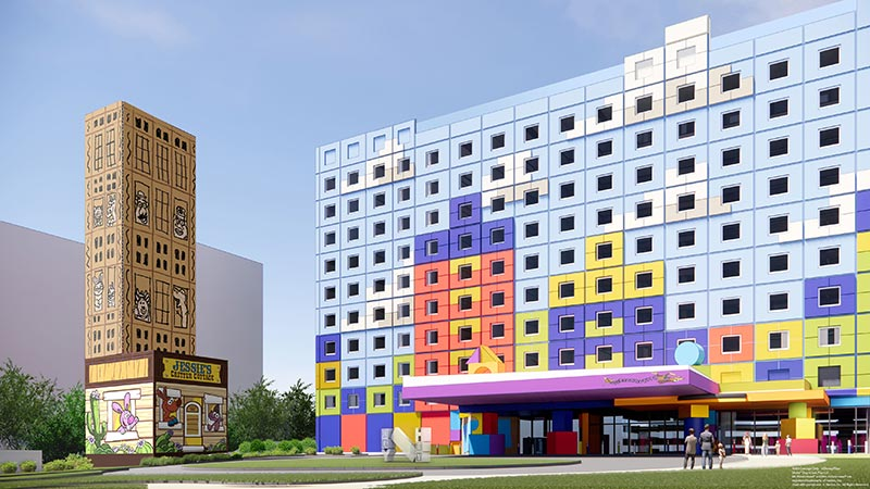 「東京ディズニーリゾート・トイ・ストーリーホテル」開業日が決定2022年4月5日(火)にオープンのイメージ